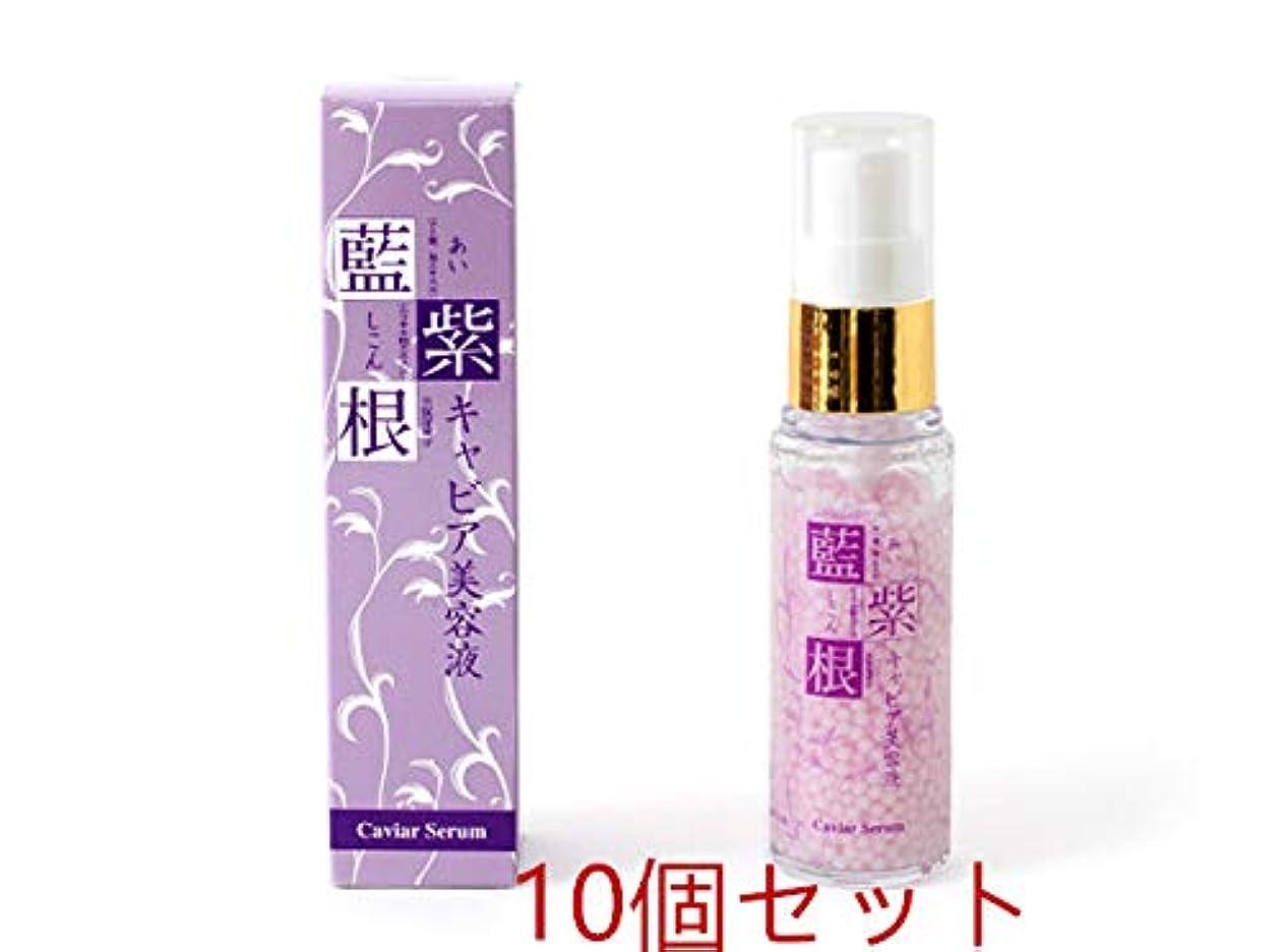 かなり応じるエイリアン藍と紫根のキャビア美容液 30g 10個セット