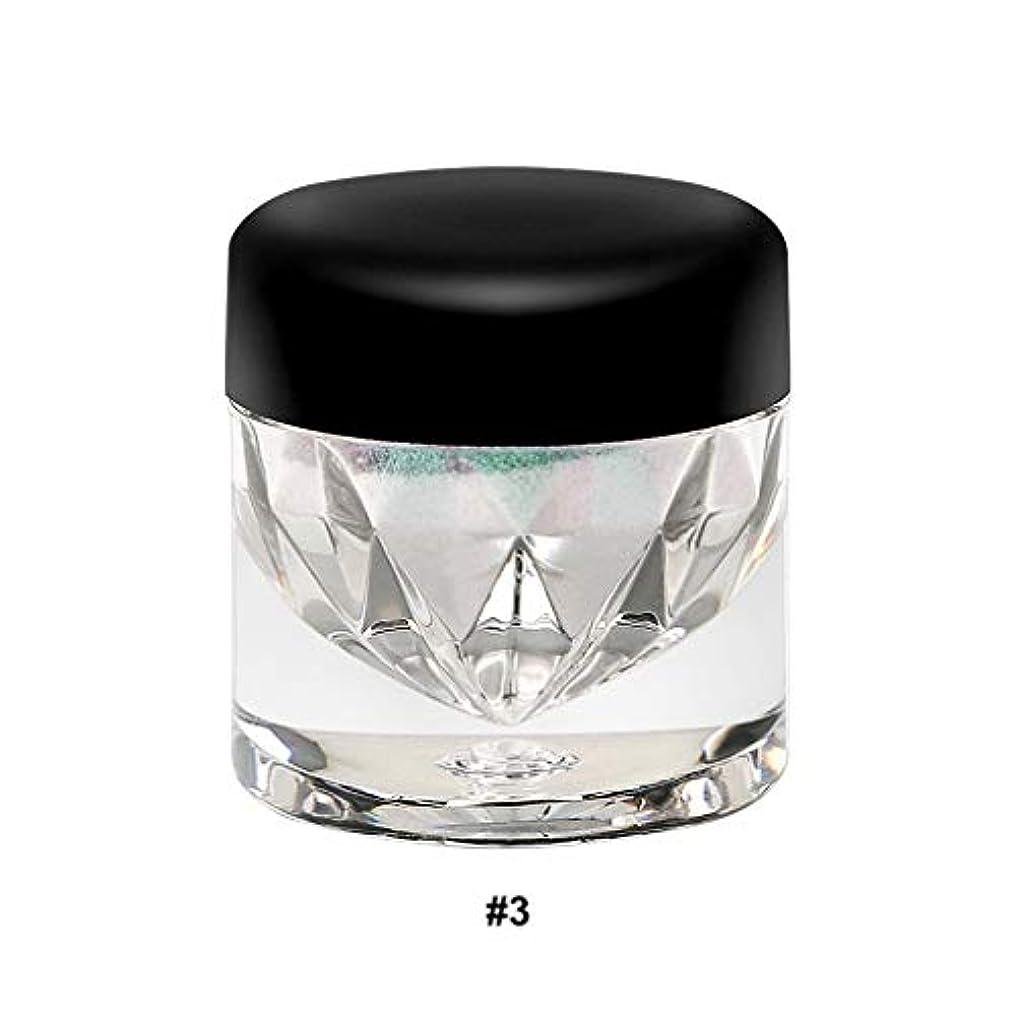 ディレクター可動秘密のハイフラッシュパールアイシャドウパウダートレンディなアイメイクカメレオンアイシャドウパウダー9色オプションプラスチックスモールボトル