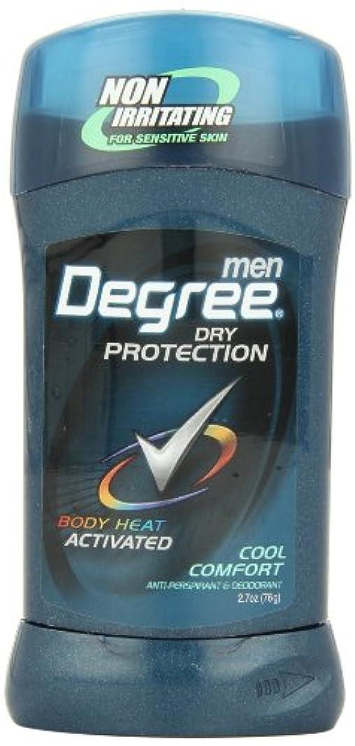キャンドル役職慣れるアメリカ製 男性用 デオドラント スティック (6個セット) (クール カンフォート)Degree Men Anti-Perspirant & Deodorant, Cool Comfort 2.7 Ounce (Pack...