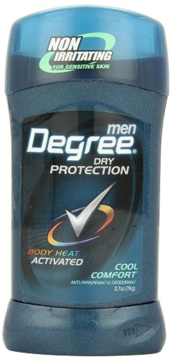 算術着服控えるアメリカ製 男性用 デオドラント スティック (6個セット) (クール カンフォート)Degree Men Anti-Perspirant & Deodorant, Cool Comfort 2.7 Ounce (Pack...
