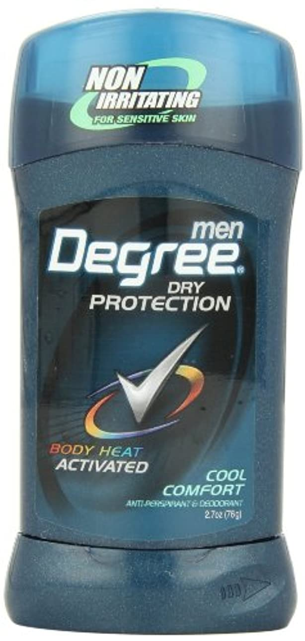 レッスン余剰たくさんアメリカ製 男性用 デオドラント スティック (6個セット) (クール カンフォート)Degree Men Anti-Perspirant & Deodorant, Cool Comfort 2.7 Ounce (Pack...