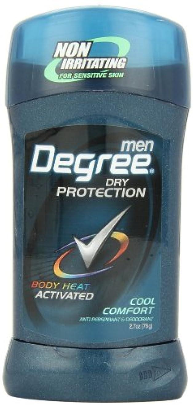 今後雨ラフトアメリカ製 男性用 デオドラント スティック (6個セット) (クール カンフォート)Degree Men Anti-Perspirant & Deodorant, Cool Comfort 2.7 Ounce (Pack...