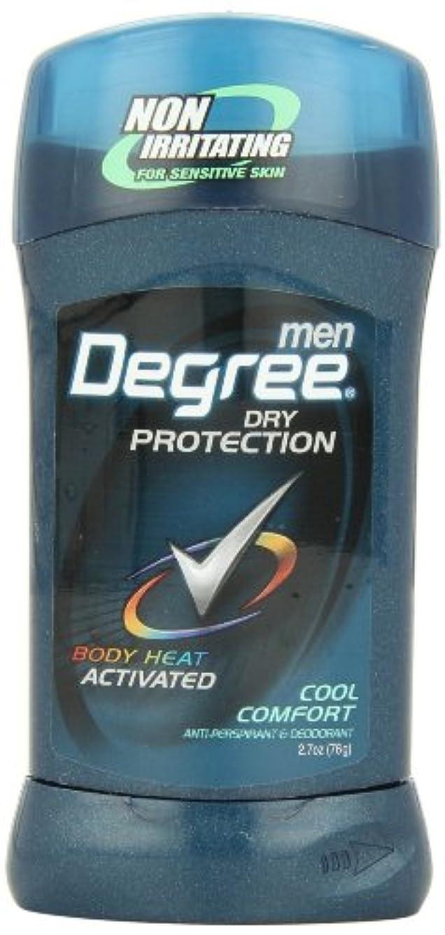 有料隔離する村アメリカ製 男性用 デオドラント スティック (6個セット) (クール カンフォート)Degree Men Anti-Perspirant & Deodorant, Cool Comfort 2.7 Ounce (Pack...