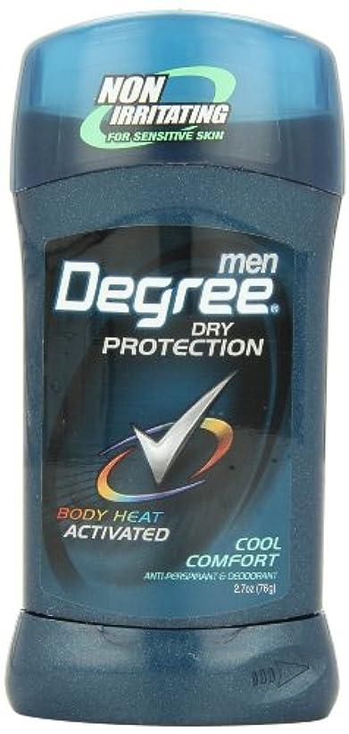罰するいらいらさせる多くの危険がある状況アメリカ製 男性用 デオドラント スティック (6個セット) (クール カンフォート)Degree Men Anti-Perspirant & Deodorant, Cool Comfort 2.7 Ounce (Pack...