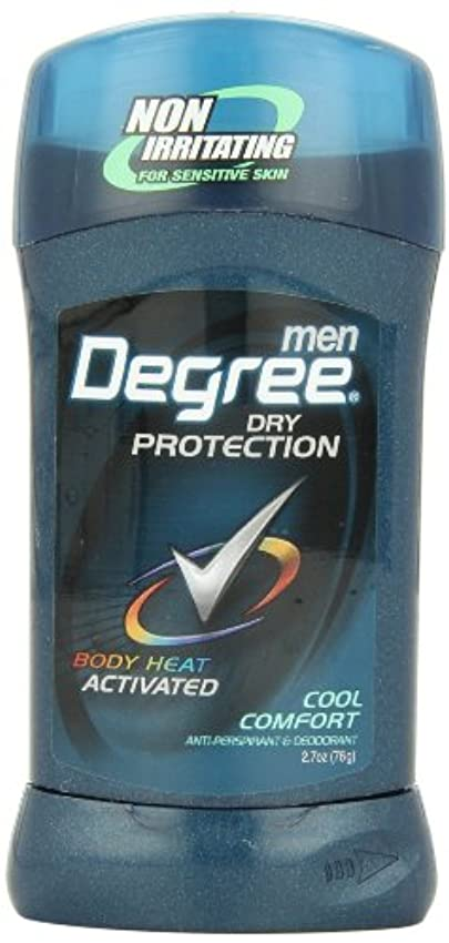 フロント内部連続的アメリカ製 男性用 デオドラント スティック (6個セット) (クール カンフォート)Degree Men Anti-Perspirant & Deodorant, Cool Comfort 2.7 Ounce (Pack...