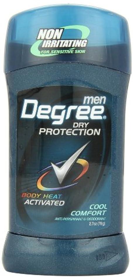 アメリカ製 男性用 デオドラント スティック (6個セット) (クール カンフォート)Degree Men Anti-Perspirant & Deodorant, Cool Comfort 2.7 Ounce (Pack...