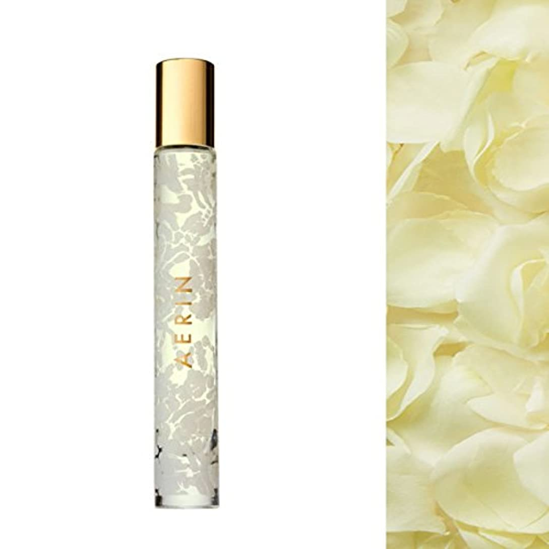 長方形転送昆虫AERIN Beauty Bamboo Rose Eau de Cologne Rollerball, 0.27oz [海外直送品] [並行輸入品]