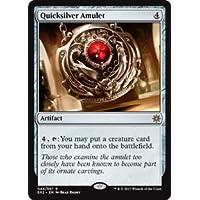 英語版 Explorers of Ixalan E02 流転の護符 Quicksilver Amulet マジック・ザ・ギャザリング mtg