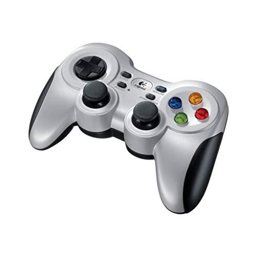 『Logicool G ゲームパッド ワイヤレス F710r シルバー PC ゲームコントローラー FF14推奨 Xinput F710 国内正規品 2年間メーカー保証』のトップ画像