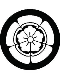 家紋シール 織川瓜紋 布タイプ 直径40mm 6枚セット NS4-1925