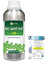 Bay Laurel Leaf (Laurus nobilis) 100% Natural Pure Essential Oil 1000ml/33.8fl.oz.