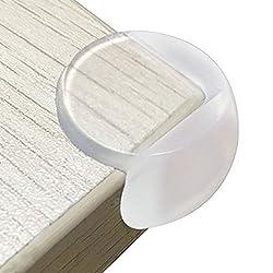 HOMYSNUG コーナークッション コーナーガード 赤ちゃんとご年配の方のケガ防止 テーブルや戸棚などの家具のエッジを保護して 粘着力が抜群 両面テープ付き 12個 セット (S)