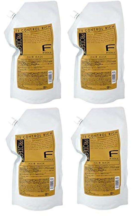 乳剤パノラマおばさん【X4個セット】 フィヨーレ Fプロテクト ヘアマスク リッチタイプ 1000g 詰替え用