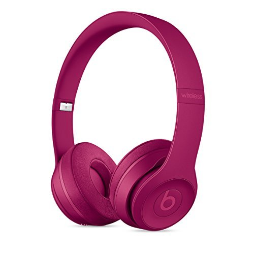 Beats Solo3 Wirelessオンイヤーヘッドフォン – ブリックレッド