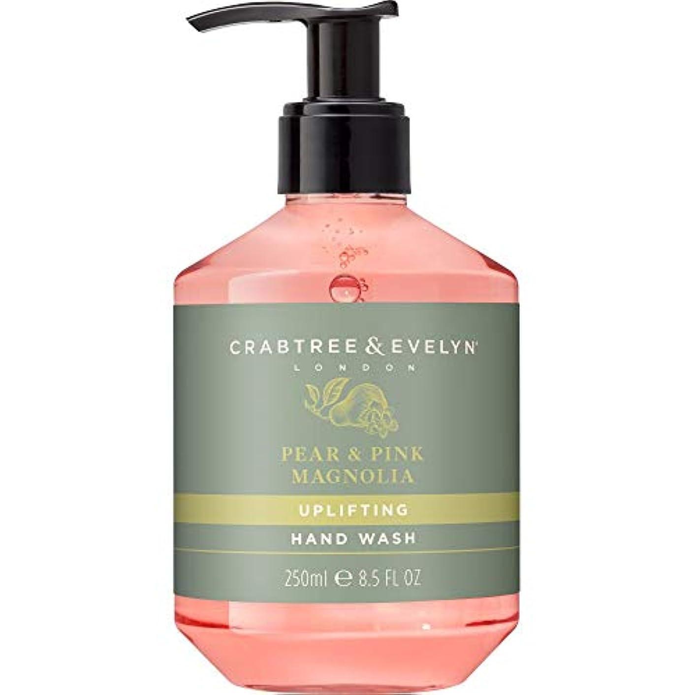 故意にヒューム共産主義[Crabtree & Evelyn] クラブツリー&イヴリン梨&ピンクのモクレンのハンドウォッシュ250ミリリットル - Crabtree & Evelyn Pear & Pink Magnolia Hand Wash...