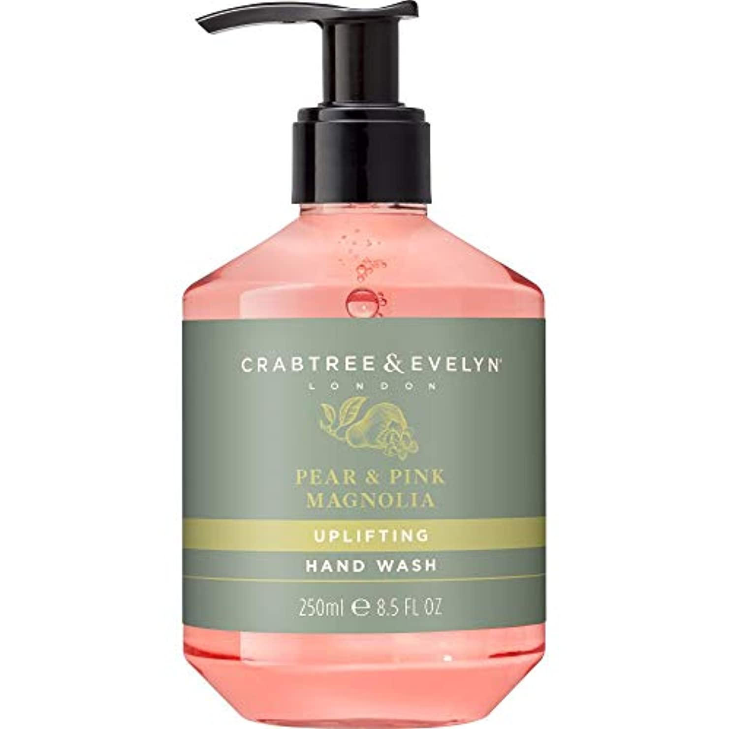 キャンペーンハリケーン勧告[Crabtree & Evelyn] クラブツリー&イヴリン梨&ピンクのモクレンのハンドウォッシュ250ミリリットル - Crabtree & Evelyn Pear & Pink Magnolia Hand Wash...