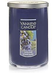 Yankee Candle Tuscan Vineyard Large 2-Wick Tumbler Candle パープル 1521694z