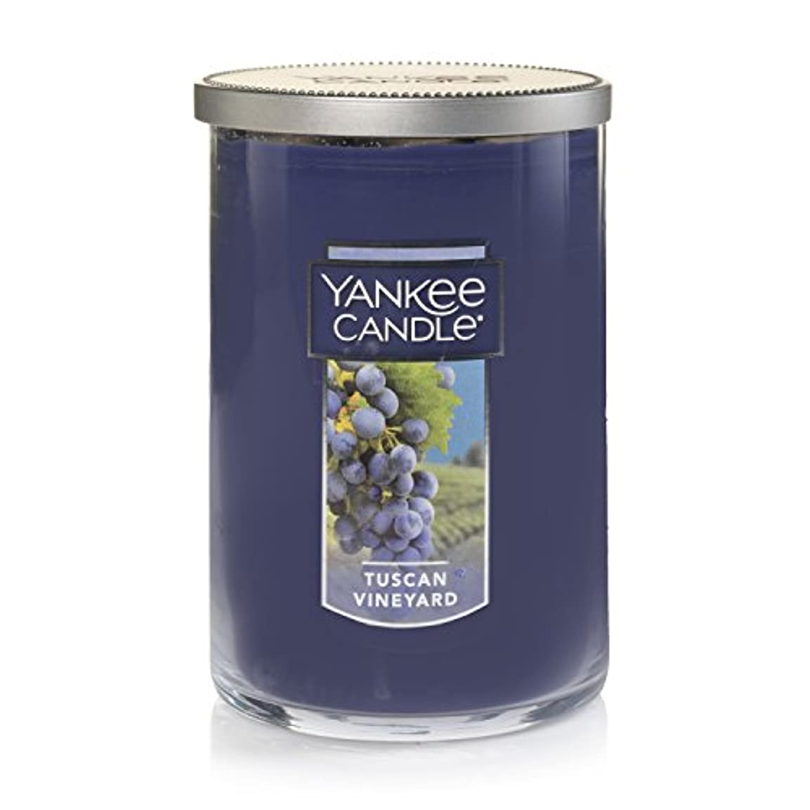 目に見える請う美人Yankee Candle Tuscan Vineyard Large 2-Wick Tumbler Candle パープル 1521694z