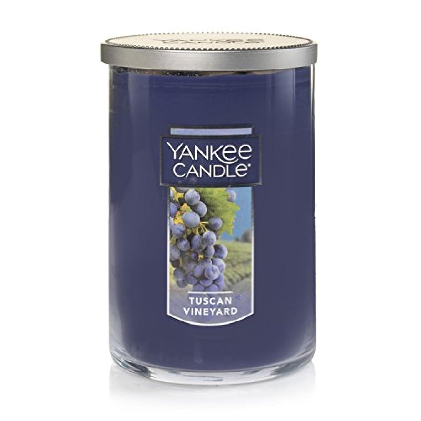 絶対にツイン関連するYankee Candle Tuscan Vineyard Large 2-Wick Tumbler Candle パープル 1521694z