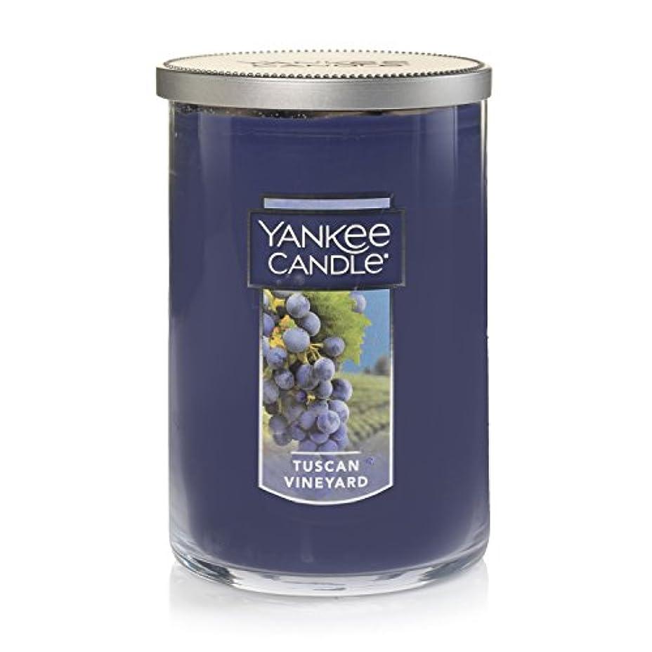 小麦引き受ける干渉するYankee Candle Tuscan Vineyard Large 2-Wick Tumbler Candle パープル 1521694z