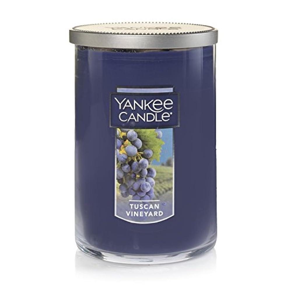 そっと思想偽善者Yankee Candle Tuscan Vineyard Large 2-Wick Tumbler Candle パープル 1521694z