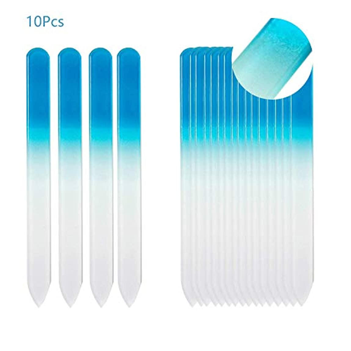 カカドゥ湿ったエイリアン爪やすり ガラスファイル グラスファイル 何度でも再利用 ネイル用品 ジェルネイル