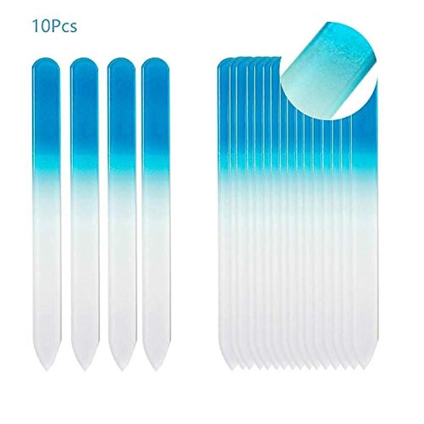 平らなドライブ姪爪やすり ガラスファイル グラスファイル 何度でも再利用 ネイル用品 ジェルネイル