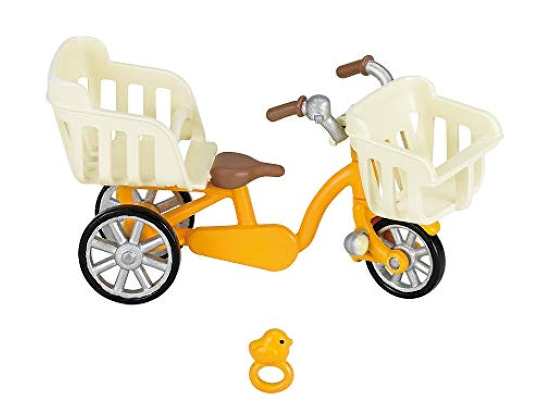 シルバニアファミリー 家具 三人乗り自転車 カ-625