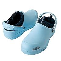 [アイトス] AZ-4500 セーフティサンダル(耐滑・静電・ノーマーキング) 007:サックス SS 安全靴 セフィテイシューズ