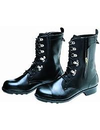 [ドンケル] 安全靴 ブーツ 長編上靴 チャック付 JIS T8101革製S種合格(V式) 640 640