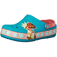 Crocs Girl's CrocsLights Disney Moana Clog