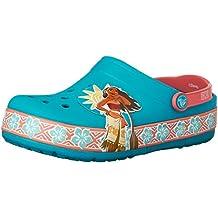 Crocs Girls Disney Moana Light Clog Multi