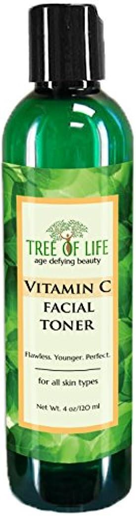 蒸留するたらい司書Tree of Life Beauty ビタミン C フェイシャル トナー 細孔 最小化 若返り