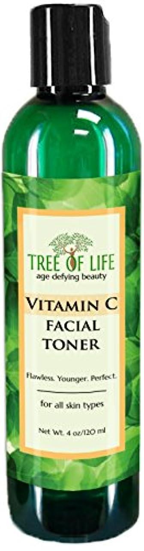 統合スクラップ自治的Tree of Life Beauty ビタミン C フェイシャル トナー 細孔 最小化 若返り