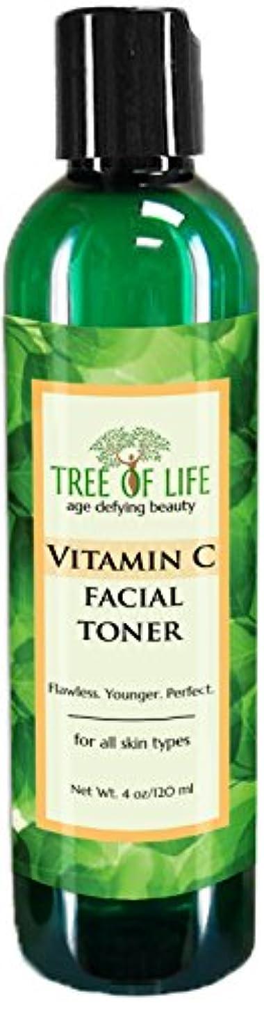 トースト艦隊寄生虫Tree of Life Beauty ビタミン C フェイシャル トナー 細孔 最小化 若返り