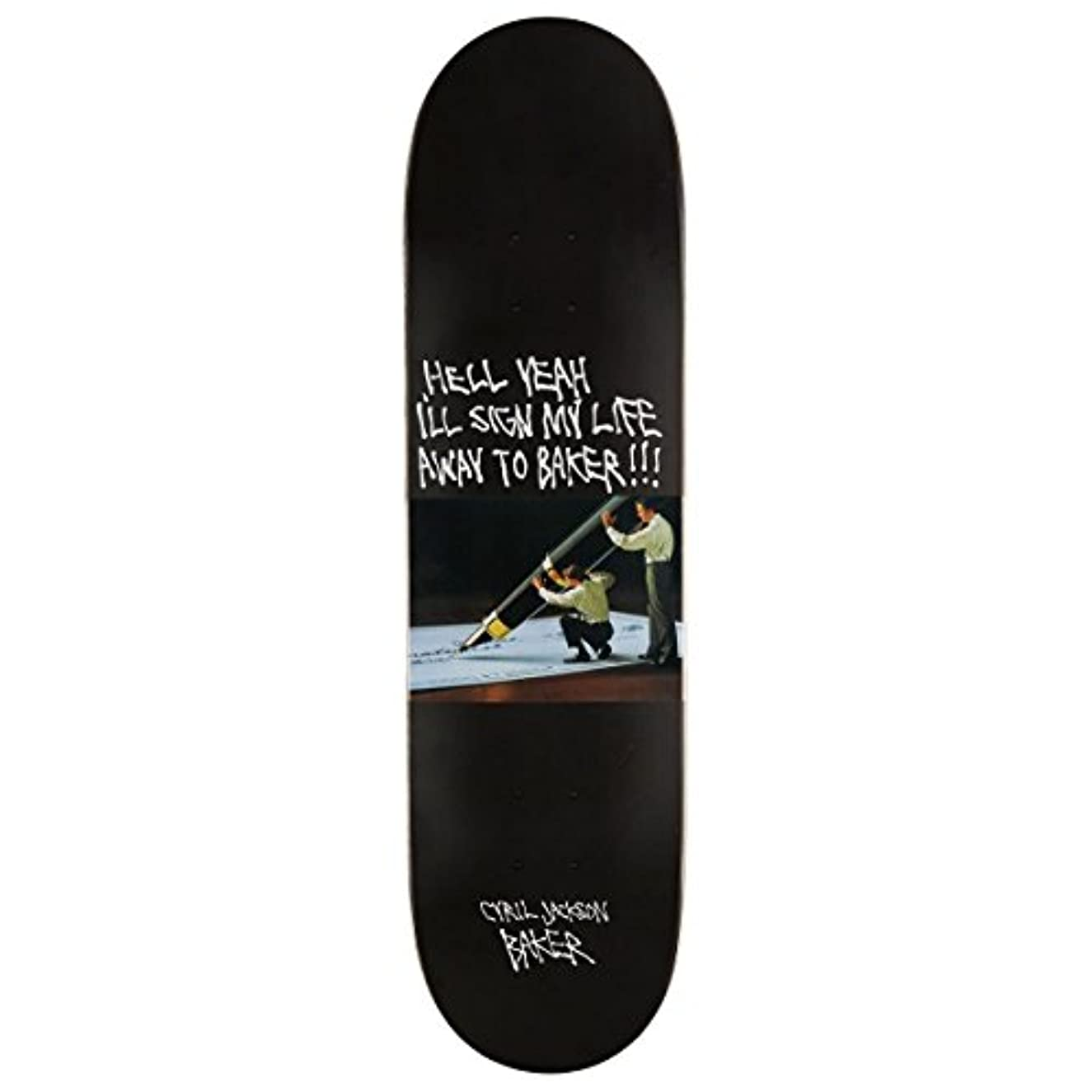 あご感心する結果Baker Cyril スーパーストック スケートボードデッキ - 8.25インチ