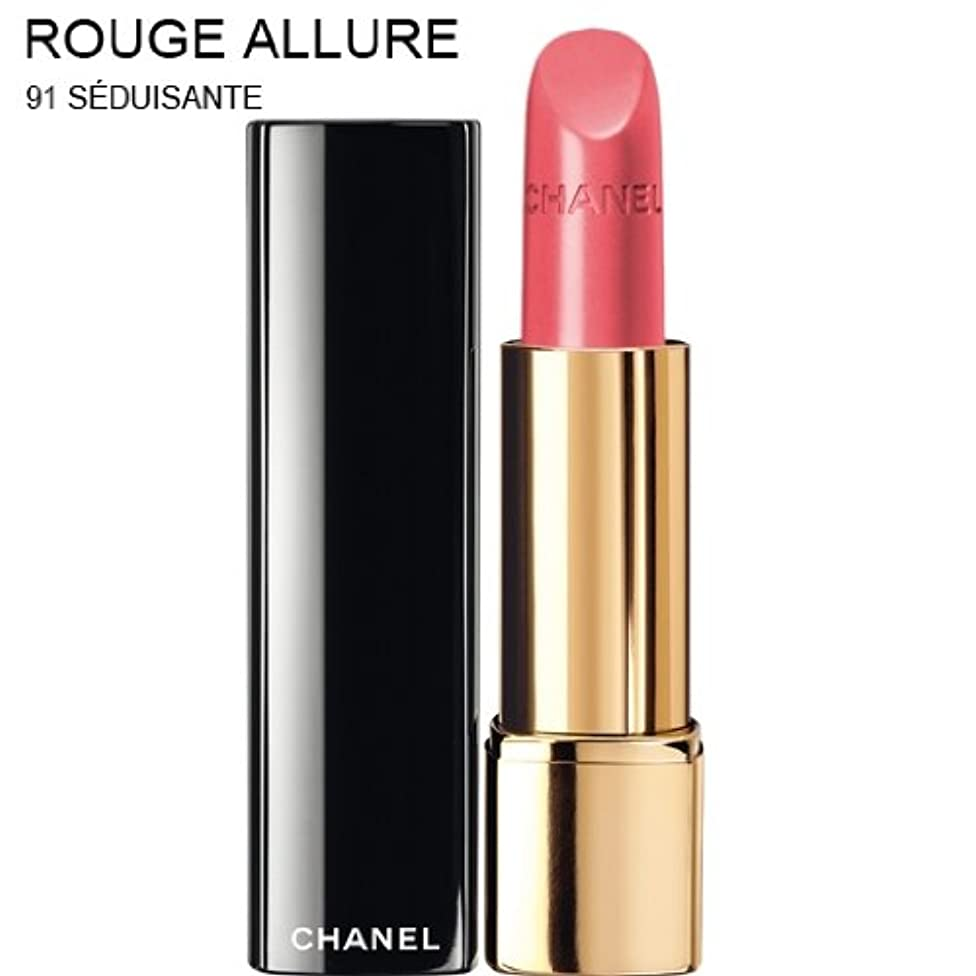 必要ないバラ色引数CHANEL ROUGE ALLURE INTENSE LONG-WEAR LIP COLOUR [並行輸入品] (91 SEDUISANTE)