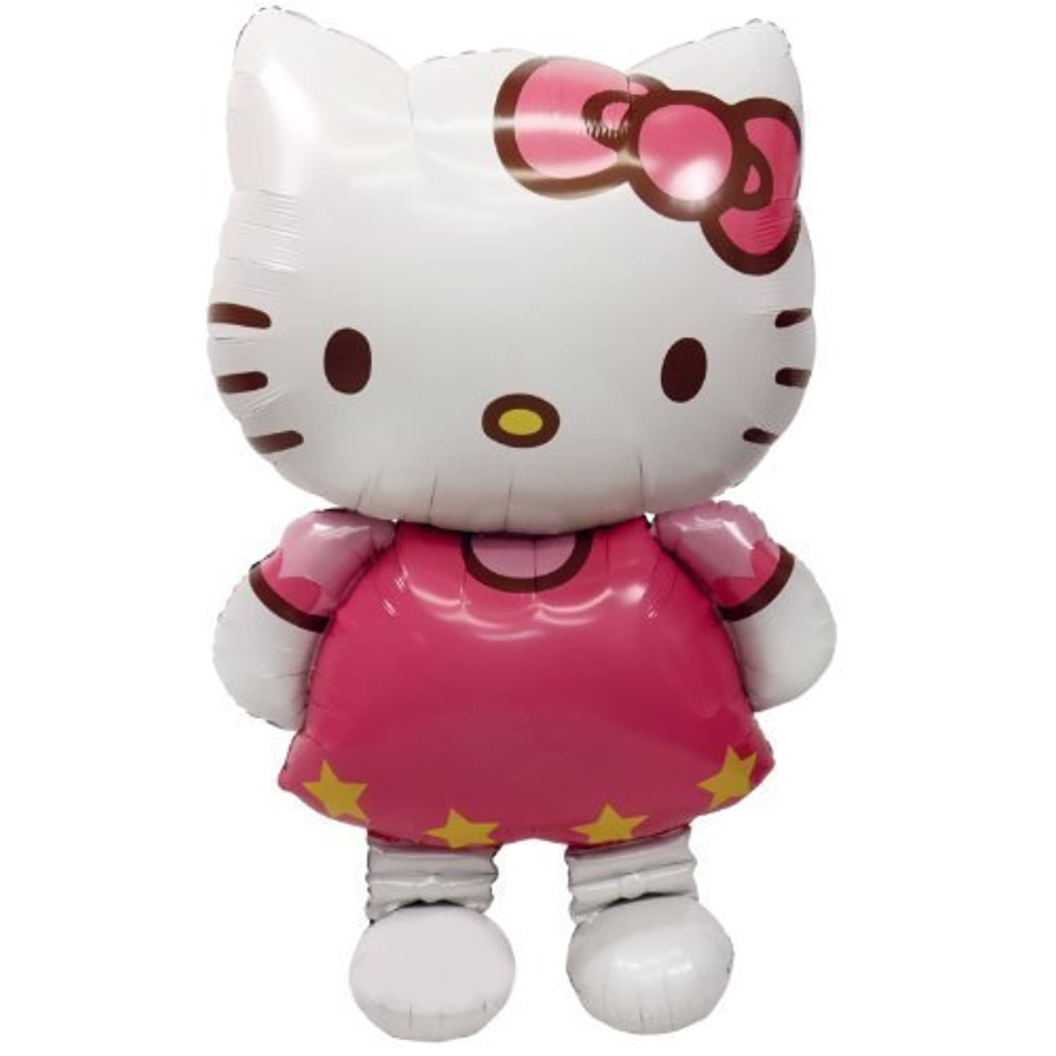 Lets Party By Mayflower Distributing Hello Kitty Airwalker Foil Balloon by BY- Mayflower Distributing