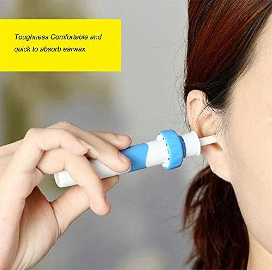 引用いくつかの報酬ポータブル自動電動バキューム耳ワックス耳垢除去ツールキット、耳掃除機簡単耳垢の除去ソフトを防ぐ大人子供のために設定クリーンツール(2個)を耳ピック
