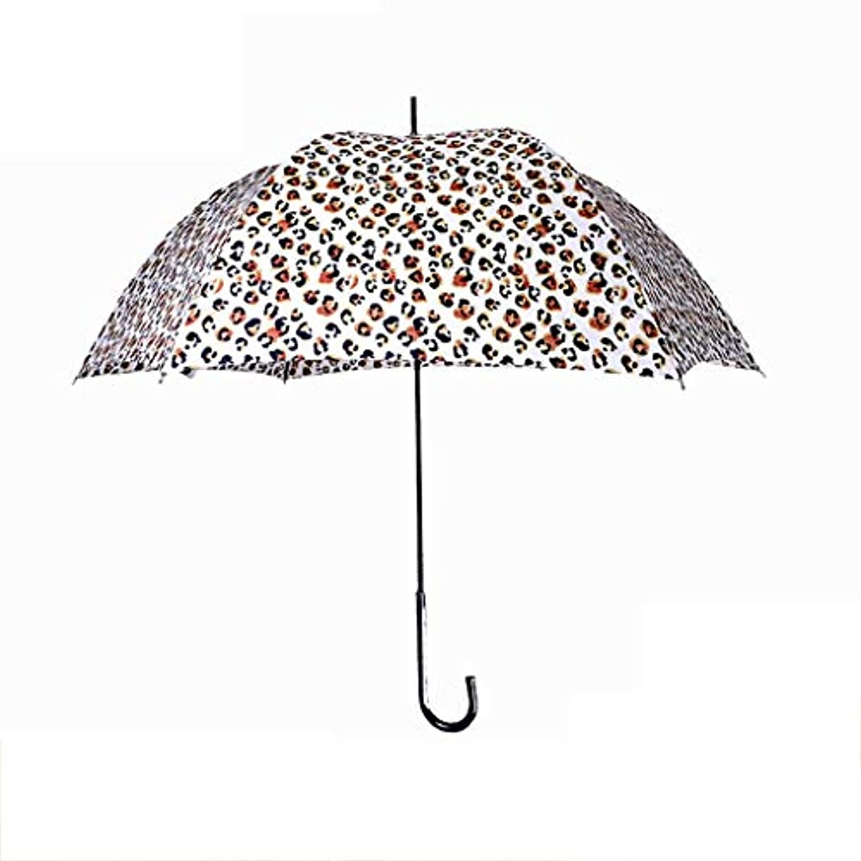 いま欺ナットロングハンドル傘傘紫外線保護日焼け止め傘日傘スリムディープアーク傘ヨーロッパとアメリカのテクスチャ (色 : D)