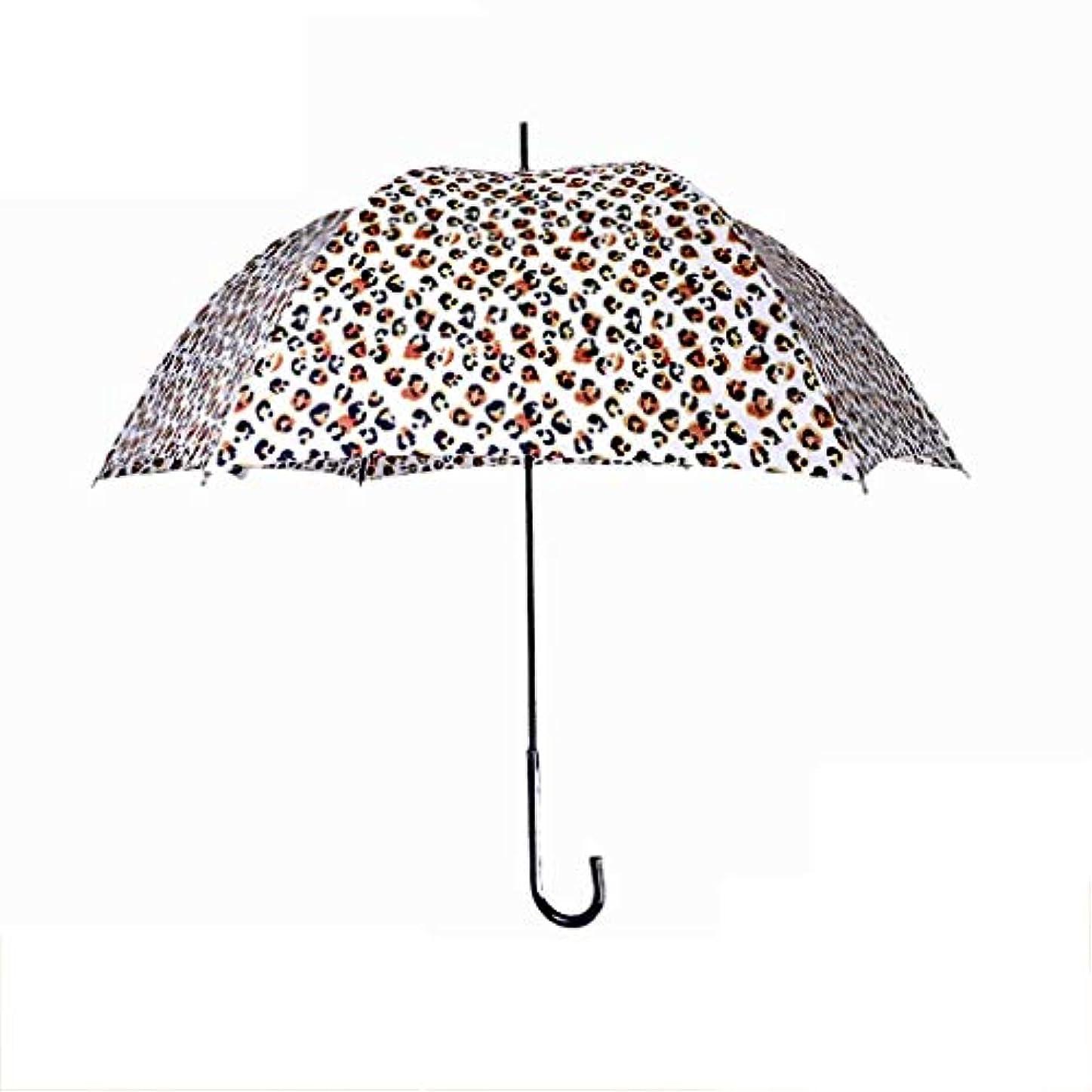 優れました小間肘ロングハンドル傘傘紫外線保護日焼け止め傘日傘スリムディープアーク傘ヨーロッパとアメリカのテクスチャ (色 : D)