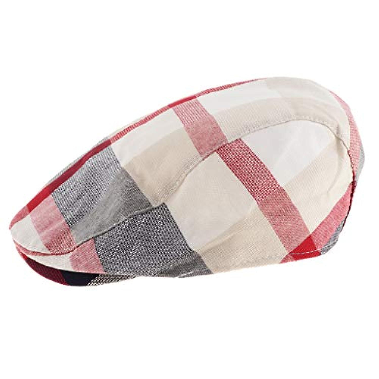 B Baosity 子供 春 秋 冬 コットン ハンチング帽 キャップ アウトドア ハンチング フラットキャップ 全4色