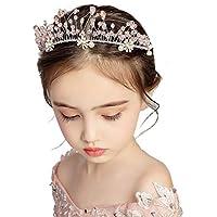 Tiara Girl Crown Child Flower Crown Headdress Jewelry Dress Accessories