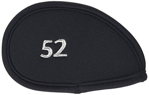 ダイヤ(DAIYA) アイアンカバー411 バラ売りモデル 黒 [52] HC-411