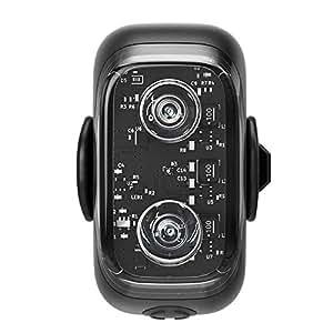 Cliq クリック自転車 テールライト リアライト スマホと連動 ワイヤレステールライト 盗難防止 IP67防水 防塵 高輝度LED Bluetooth usb充電 盗難アラーム ブレーキランプ/カバン 服 わんちゃんにも装着可能 夜間散歩 (Cliq テールライト)