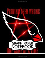 Notebook: American Arizona Cardinals Phoenix Team Professional Football Club Taking Notes, Notebook Graph Paper Girls Kids School Taking Notes, Workbook for Teens & Children, ... Students, Inexpensive Gift For Boys And Girls. One Subject • 110 Pages