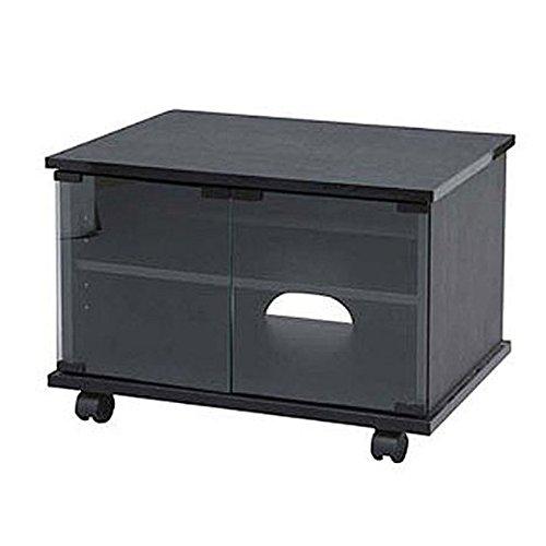 アイリスオーヤマ テレビ台 幅47.4×奥行39×高さ37.7cm ブラック ENT-21K