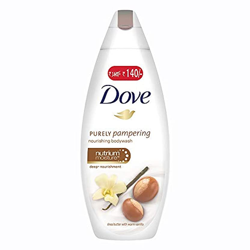 三十子孫遺伝的Dove purely pampering Shea Butter and Warm Vanilla Body Wash, 190ml