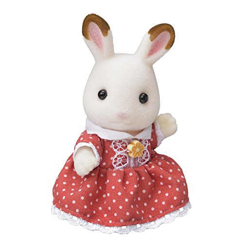 シルバニアファミリー 人形 ショコラウサギファミリー ショコラウサギの女の子