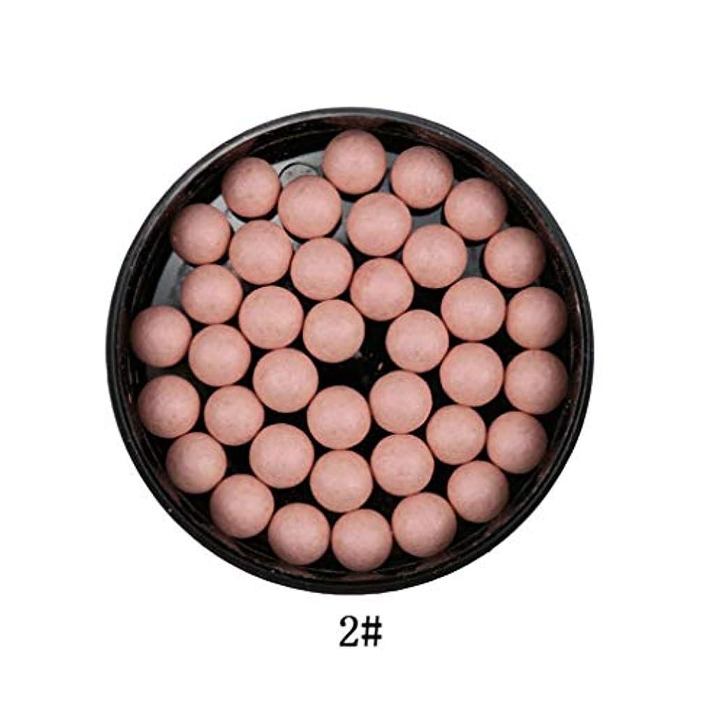 広範囲マチュピチュ並外れて3では1ポータブルブラッシュロングラスティング顔料マットナチュラルフェイスブラッシュボールオイルコントロール輪郭ブラッシュブロンザー
